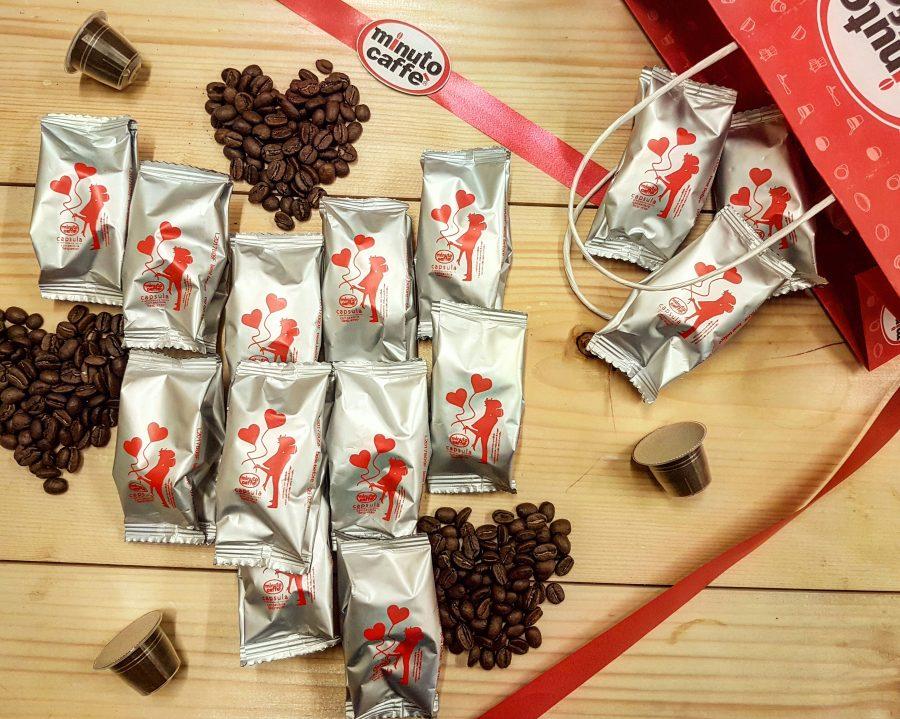Capsule Minuto Caffè edizione limitata San Valentino