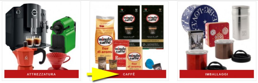 Black Friday 2017 - acquista su store.minutocaffe.it